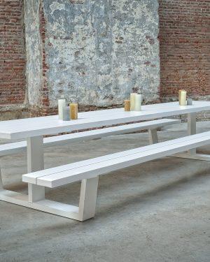 Kantine en picknick tafel