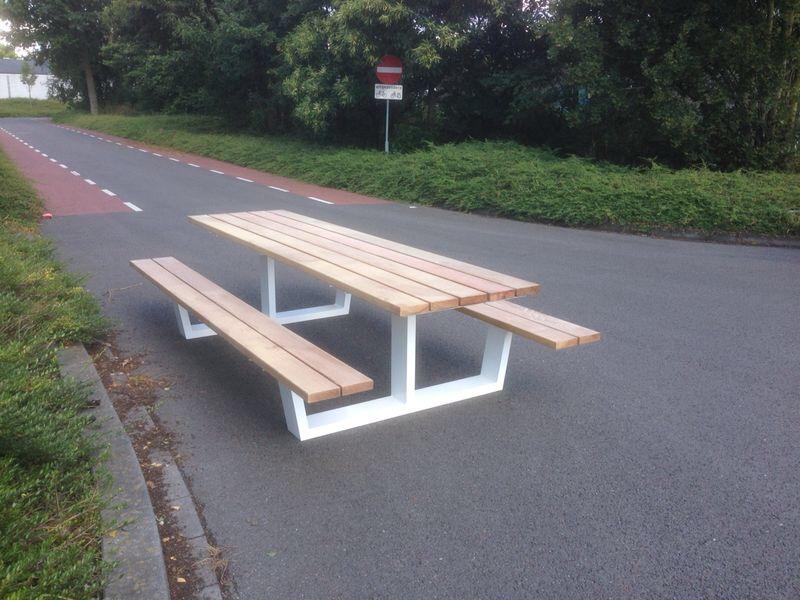 Multifunctionele Indoor Picknicktafel : Kantine en picknick tafel up kantoorinrichting outdoor indoor