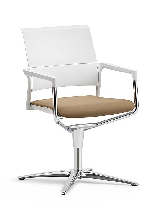 Kl ber mera vergaderfauteuil up kantoorinrichting bezoekersstoelen - Stoel rondetafelgesprek ...
