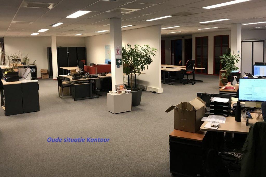 Renovatie kantoor